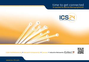 Imagebroschuere ICS24 Cover