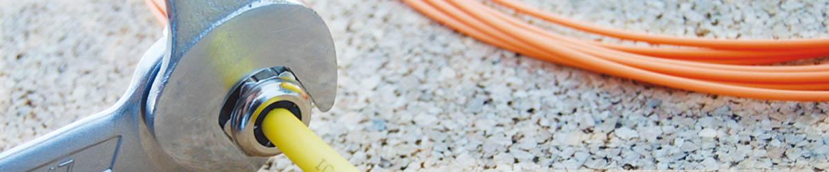 LWL-Montage- und Reparaturservices; ICS24; Kabel-Konfektion; Netzwerktechnik; Netzwerkkomponenten;