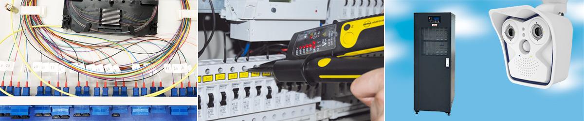 Kabelkonfektion, Netzwerktechnik, Sicherheitstechnik, Instandhaltung