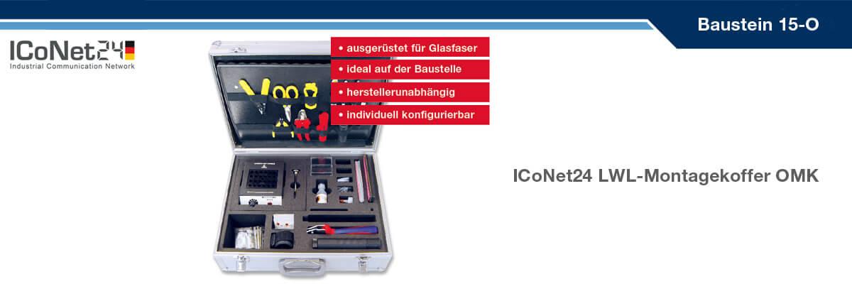 ICS24, Kabel-Konfektion, Netzwerktechnik, Netzwerkkomponenten, Sicherheitstechnik, ICoNet24, Baustein 15-O