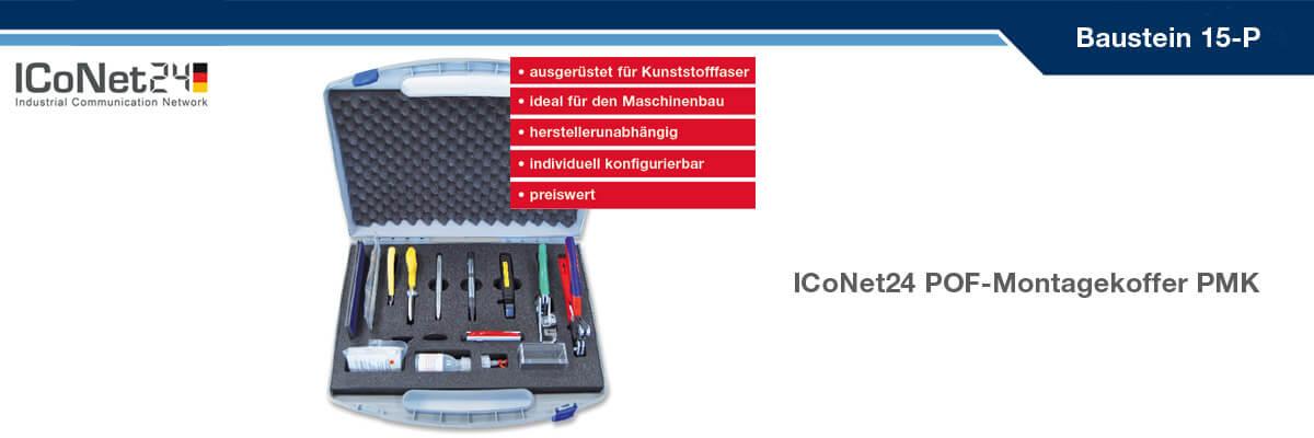 ICS24, Kabel-Konfektion, Netzwerktechnik, Netzwerkkomponenten, Sicherheitstechnik, ICoNet24, Baustein 15-P