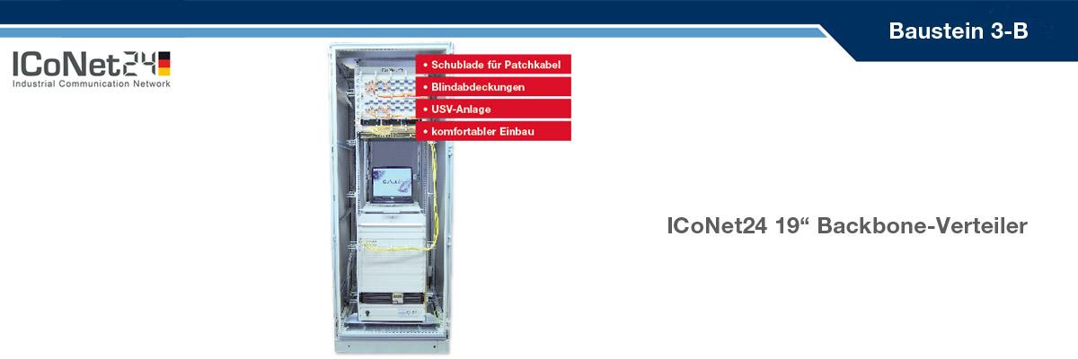 ICS24, Kabel-Konfektion, Netzwerktechnik, Netzwerkkomponenten, Sicherheitstechnik, ICoNet24, Backbone