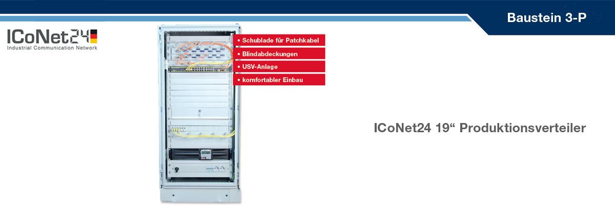 ICS24, Kabel-Konfektion, Netzwerktechnik, Netzwerkkomponenten, Sicherheitstechnik, ICoNet24, Produktionsverteiler