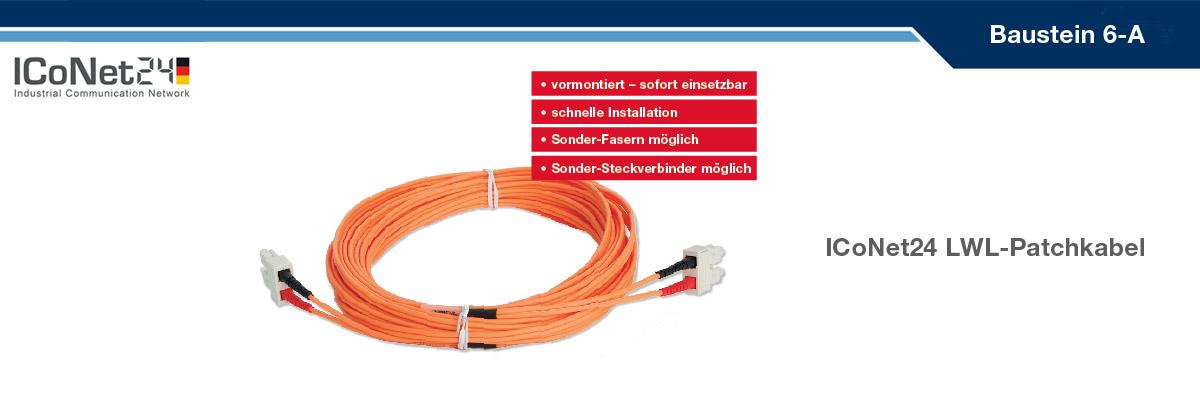 ICS24, Kabel-Konfektion, Netzwerktechnik, Netzwerkkomponenten, Sicherheitstechnik, ICoNet24, Baustein 6-A