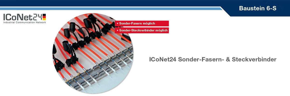 ICS24, Kabel-Konfektion, Netzwerktechnik, Netzwerkkomponenten, Sicherheitstechnik, ICoNet24, Baustein 6-S